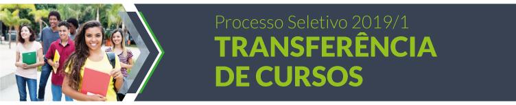 2019: Transferência de cursos