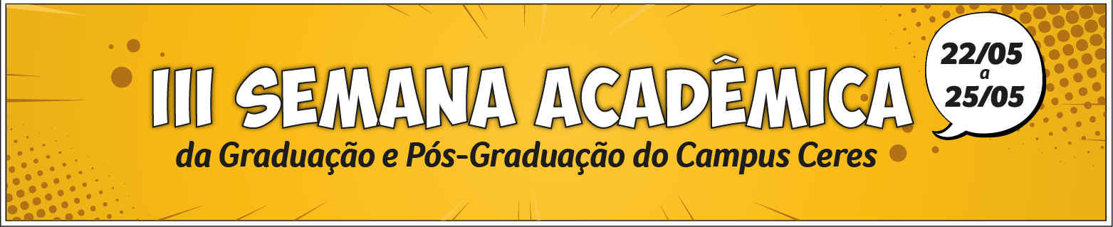 III Semana Acadêmica