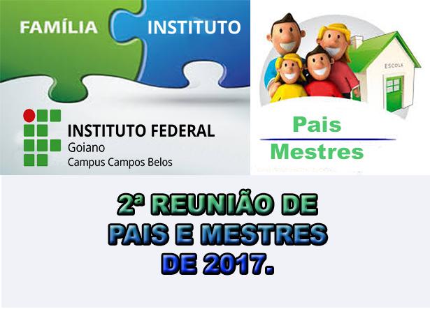 Conhecido Comunicado - 2ª Reunião de Pais e Mestre do ano 2017. SR31