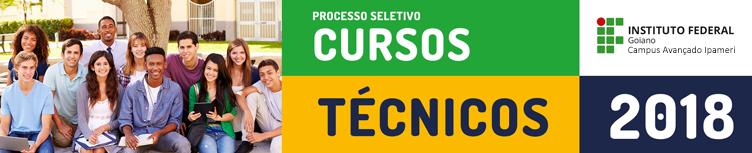 cursos técnicos 2018
