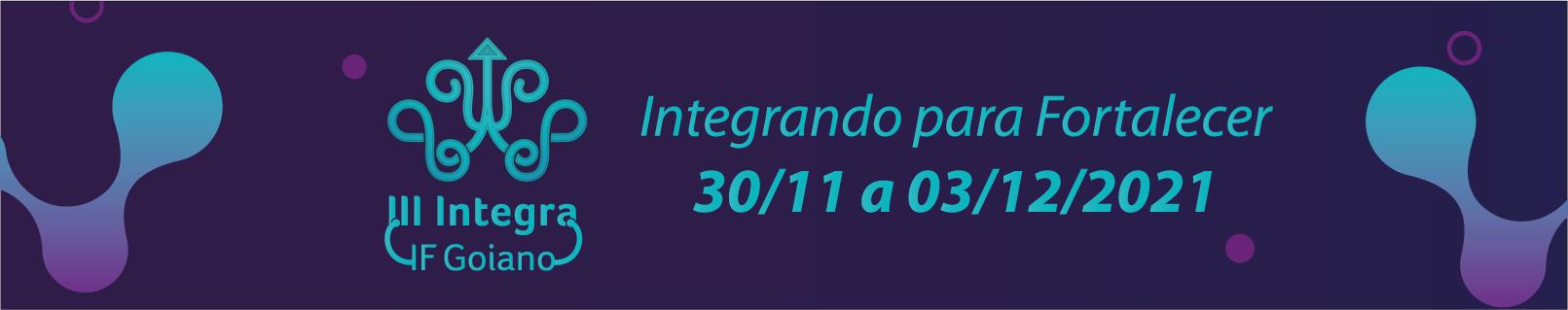 III Integra IF Goiano
