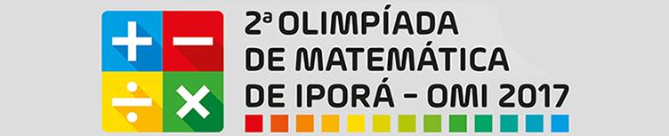Olimpíada de Matemática de Iporá - OMI 2017