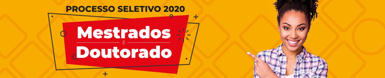 Processo seletivo de Pós-graduação - 2020/1