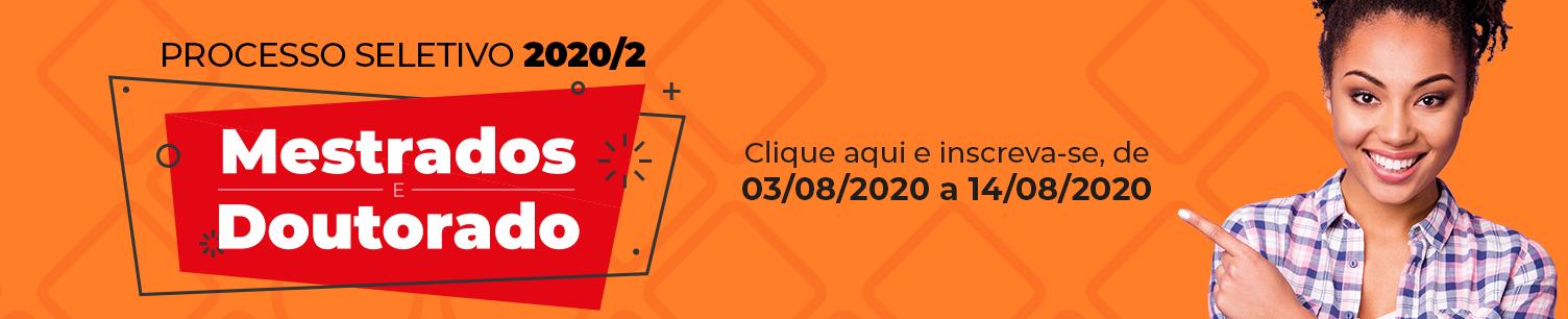 Processo Seletivo pós-graduação 2020/2