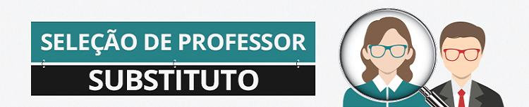 Professor substituto - junho de 2019