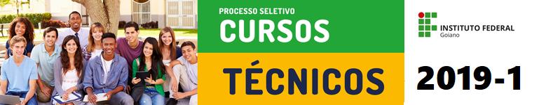 Seleção cursos técnicos 2018.2