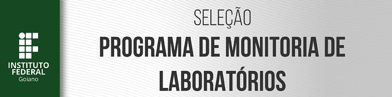 Monitoria de Laboratórios