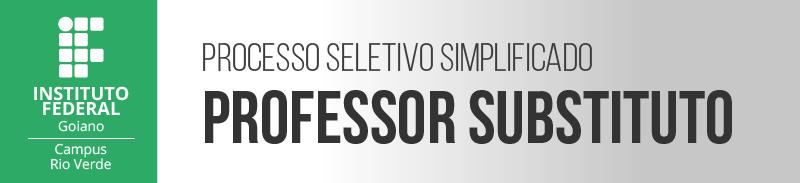 Professor Substituto 2021-1