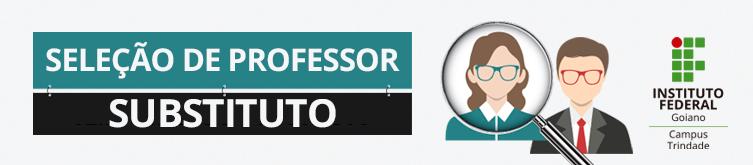 Banner - Professor Substituto Engenharia Civil