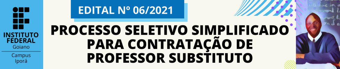 seleção para professor substituto - Áreas: Agronomia, Português/Espanhol e Matemática