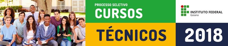 Processos Seletivos - Cursos Técnicos 2018/1