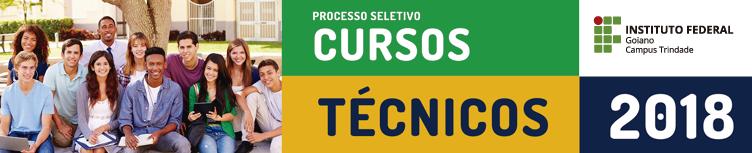 Processo Seletivo Cursos Técnicos Integrados ao Ensino Médio